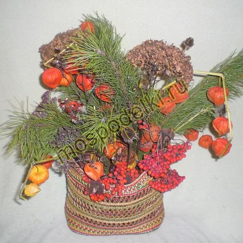 Букет зимы суровой новогодняя композиция, букет мужчине корзина