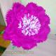 Большой цветок из бумаги