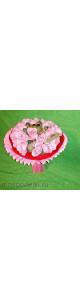 Ароматный букет из мыла (23 розы)