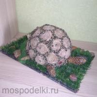Черепаха из природного материала