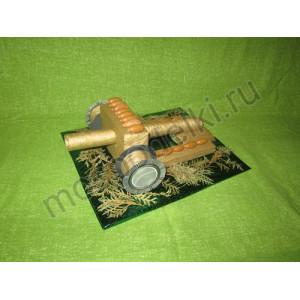 Пушка из природного материала