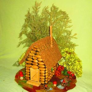 Лесной домик с животным
