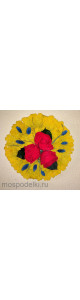 Панно из стабилизированных цветов