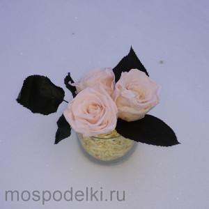 Букетик стабилизированных роз